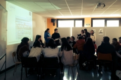 Presentation of the Project in Tolosako Inmaculada lanbide ikastola (Guipuzcoa)